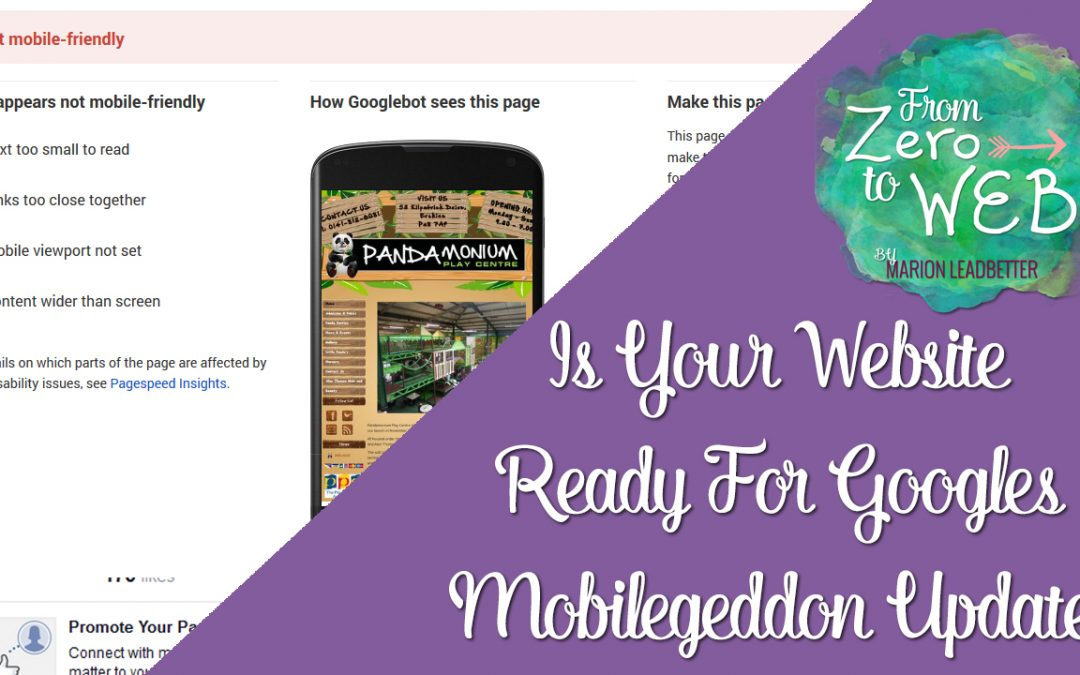 TOP TIP TUESDAY: Is Your Website Ready For Google's Mobilegeddon?