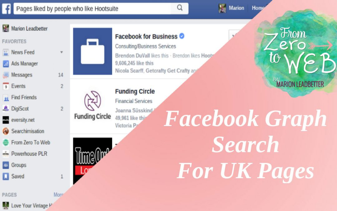 TOP TIP TUESDAY: How To Get Facebook Graph Search In The UK