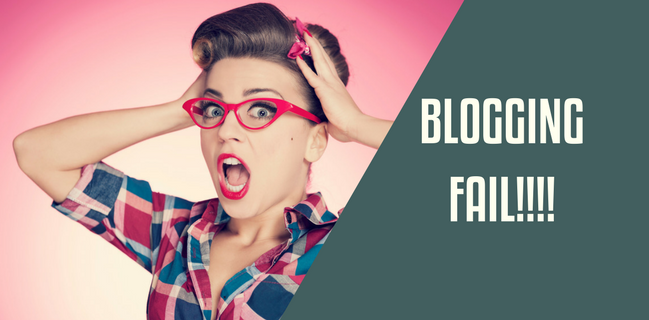 Blogging Fail – When You Don't Practice What Your Preach